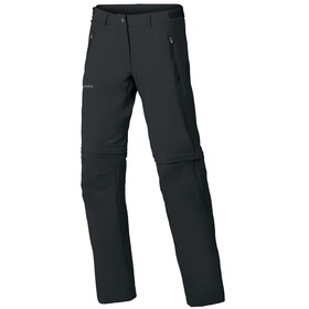 VAUDE Farley Stretch ZO T-Zip Pants Women Regular black